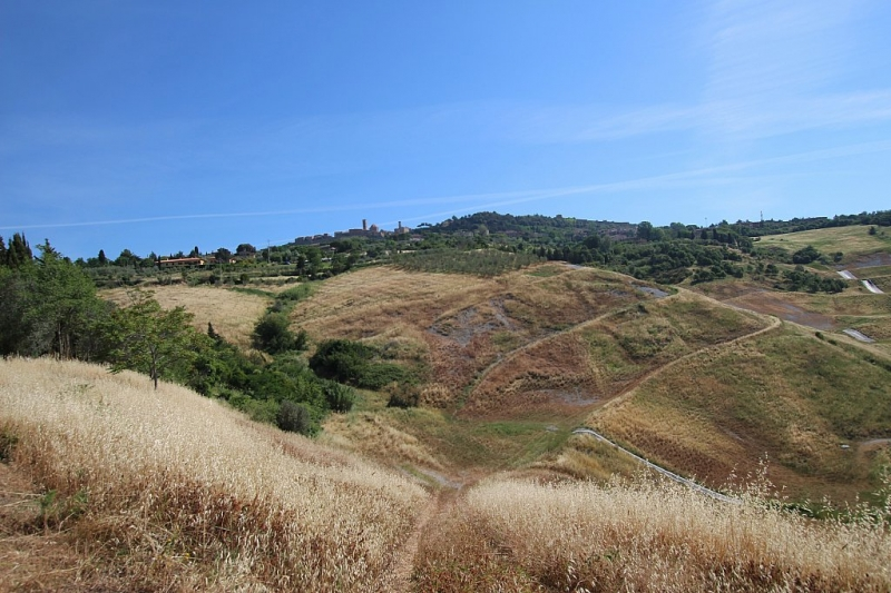 Farm with panoramic views over Volterra